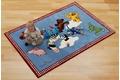 Die Lieben Sieben Kinder Teppich, In den Wolken, Öko-Tex zertifiziert Bär Zoo Bauernhof Hund Tiere