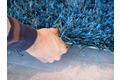 Schöner Wohnen Hochflor-Teppich, Feeling, petrol, 55 mm Florhöhe