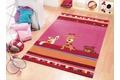 Wissenbach Kinder-Teppich Lifestyle Kids 2283 lila B�r Tiere Zoo