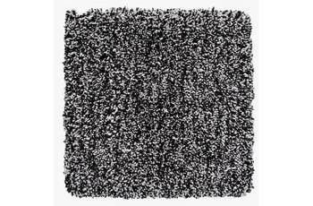 Al-Mano Teppichfliese Piazza schwarz-weiß meliert 40x40