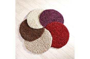 Teppich Antony sand 57 cm rund