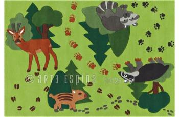 Arte Espina Joy 4176-58 Grün 110 x 160 cm