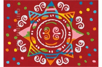 Arte Espina Spirit-Glowy 3145-41 Rot 110 x 160 cm