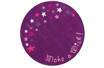 Arte Espina Kinder-Teppich Spirit 3093-48 Glowy Yarn flieder/ lila