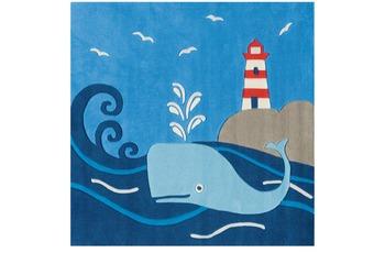 Arte Espina Kinder-Teppich Spirit 3096-53 Glowy Yarn blau