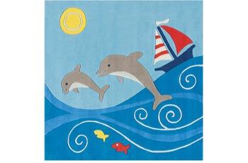 Arte Espina Kinder-Teppich Spirit 3097-52 Glowy Yarn blau