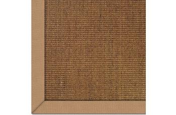 Astra Astra Manaus mit ASTRAcare (Fleckenschutz) 200 x 250 cm braun Farbe 65, Baumwollband 006