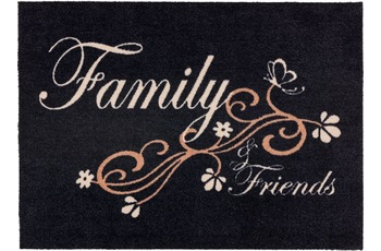 Astra Fussmatte Cardea Family schwarz 50x70
