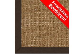 Astra , Kokos-Teppich, Mangalore, Uni, freie Bord�renwahl, aus 70% Kokosfasern