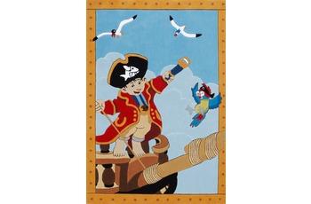 Capt'n Sharky Kinder-Teppich, K�pt�n Sharky und der Papagei, �ko-Tex zertifiziert