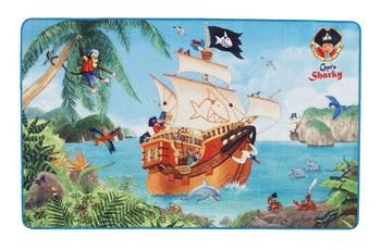 Capt'n Sharky , Teppich, SH-301, 100 x 160 cm, rutschhemmender R�cken, 7 mm Florh�he