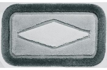 clarissa , Badematte, Comfort, key-west/ grau-mittel, Polyacryl, Öko-Tex zertifiziert, rechteckig