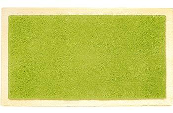 clarissa , Badteppich, Linea, 1 kiwi/ vanille-dunkel, mit Schlingenmuster, 18 mm Florhöhe