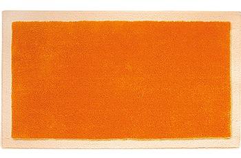 clarissa , Badteppich, Linea, 1 mandarine/ pfirsich, mit Schlingenmuster, 18 mm Florhöhe