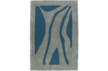 clarissa , Badteppich, Patria, manhattan/ taubenblau, rechteckig, 18 mm Florhöhe