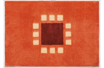 clarissa , Badteppich, Structura, 3 terracotta/ rost-dunkel, Öko-Tex zertifiziert, 18 mm Florhöhe