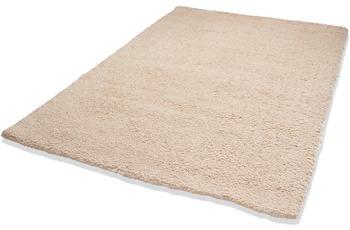 DEKOWE Teppich, Beach, beige, Hochflor, 25mm Florhöhe
