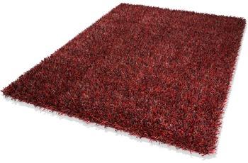 DEKOWE Teppich, Corado, bordeaux, Hochflor, 40 mm Florh�he, im Wunschma� verf�bar