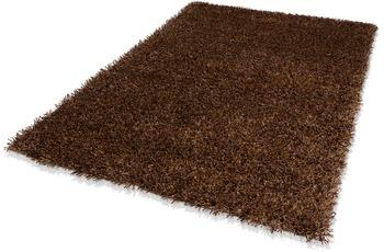DEKOWE Teppich, Corado, braun, Hochflor, 40 mm Florh�he, im Wunschma� verf�bar