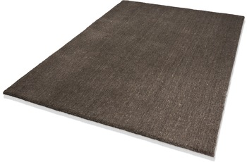DEKOWE Teppich, Lana, braun, 10 mm Florhöhe, 100% Neuseelandwolle
