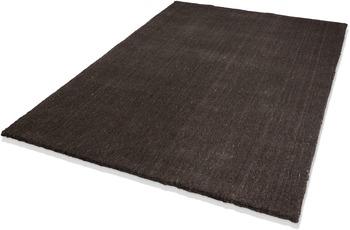 DEKOWE Teppich, Lana, dunkelbraun, 10 mm Florh�he, 100% Neuseelandwolle