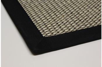 DEKOWE Teppich Brasil, schwarz Wunschmaß ohne Fleckenschutz