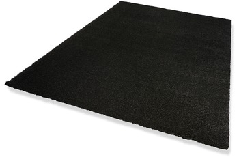 DEKOWE Hochflor-Teppich, Wellness, schwarz, 22 mm Florh�he