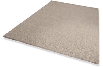 DEKOWE Hochflor-Teppich, Wellness, hellgrau, 22 mm Florhöhe