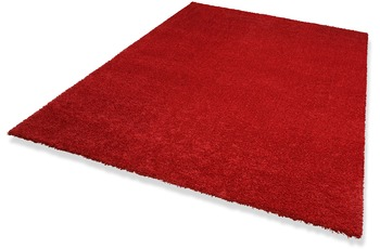 DEKOWE Hochflor-Teppich, Wellness, rot, 22 mm Florh�he