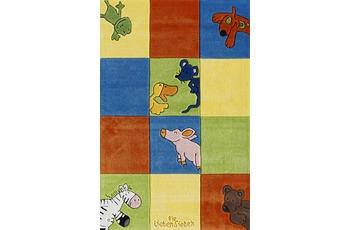 Die Lieben Sieben Kinder-Teppich, bunt, Öko-Tex zertifiziert