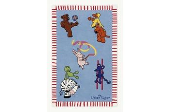 Die Lieben Sieben beim Sport, Kinder-Teppich, Öko-Tex zertifiziert