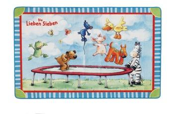 Die Lieben Sieben , Teppich, LS-201, 140 x 200 cm, mit rutschhemmendem Rücken