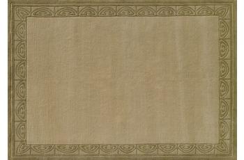 Nepalteppich Dolpa 333 grün 70 cm x 140 cm