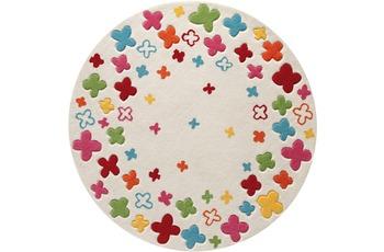 ESPRIT Kinder-Teppich, Bloom Field ESP-2980-01 beige, �ko-Tex 100 zertifiziert