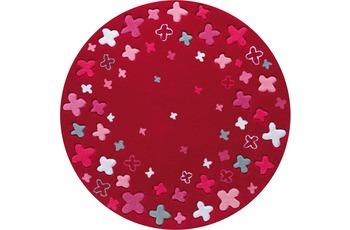 ESPRIT Kinder-Teppich, Bloom Field ESP-2980-04 rot, Öko-Tex 100 zertifiziert
