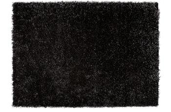 ESPRIT Hochflor-Teppich, Cool Glamour, ESP-9001-09 schwarz
