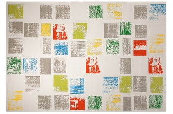 ESPRIT Teppich Cuadros ESP-8024-01 weiss 80 x 150 cm