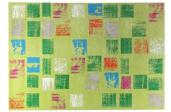 ESPRIT Teppich Cuadros ESP-8024-03 grün 80 x 150 cm