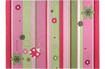 ESPRIT Kinder-Teppich, Ladybird ESP-2982-01 rosa/ pink, Öko-Tex 100 zertifiziert