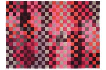 ESPRIT Teppich Pixel ESP-2834-01 rot 70 x 140 cm