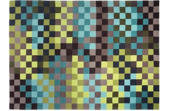 ESPRIT Teppich Pixel ESP-2834-03 grün 170 x 240 cm