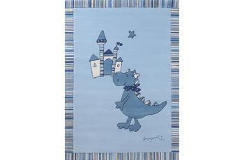 ESPRIT Teppich Dragon & castle ESP-508-01 blau 140x200
