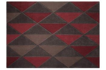 ESPRIT Teppich Triangle ESP-3627-01 rot 140 x 200 cm