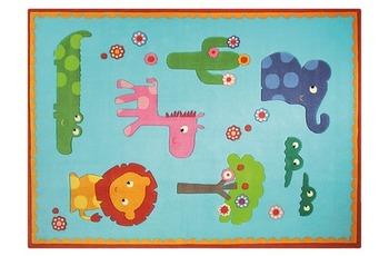 ESPRIT Kinder-Teppich Zoo ESP-3634-02 t�rkis 140 x 200 cm
