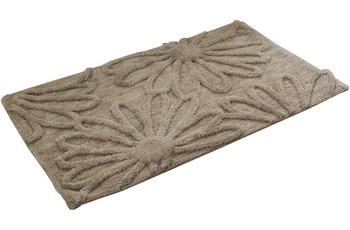 Gözze Badteppich Blume sand