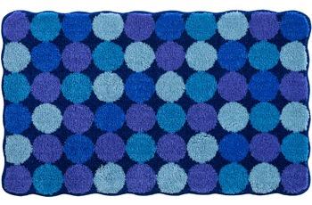 GRUND , Badteppich, AGARTHI 185 blau-türkis
