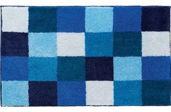 GRUND Badteppich BONA 247 blau 60 cm x 60 cm