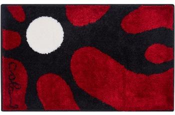 Colani 12 Badteppich rot 60x100 cm