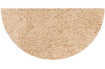 GRUND LEX Badteppich beige 50 x 80 cm halbrund
