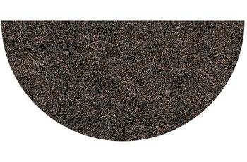 GRUND LEX Badteppich mocca 50 x 80 cm halbrund